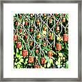 Garden Noah Bells Framed Print by Cheryl Young