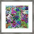 Geometrix  Framed Print by Debbie Portwood