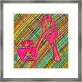 High Heels Power Framed Print by Pierre Louis