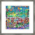 Independence Day Venice Style Framed Print by Frank Strasser