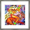 Kali Goddess Framed Print by Sri Mala