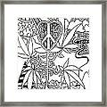 Leaves Framed Print by Andrew Padula