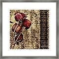 Love Letter Framed Print by VIAINA Visual Artist