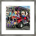Mardi Gras Clowning Framed Print by Steve Harrington