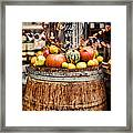 Mulled Wine Framed Print by Heather Applegate
