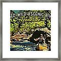 Obed Wild Scenic River Tennessee  Framed Print by Flo Karp