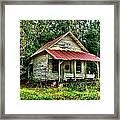 Old Florida Vi Framed Print by Julie Dant