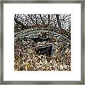 Old Ice House Framed Print by Ms Judi