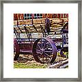 Old Wagon Bodie Ghost Town Framed Print by Garry Gay