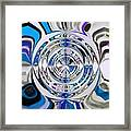 Out Of The Blue 2 Framed Print by Katina Cote