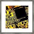 Printed Circuit Board, Artwork Framed Print by Pasieka