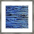 Printed Circuit Board Framed Print by Pasieka