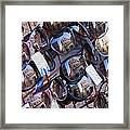 Reflections In Sunglasses Framed Print by Jeremy Woodhouse