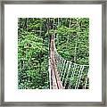 Sky Bridge 2 Framed Print by Aimee L Maher Photography and Art Visit ALMGallerydotcom