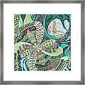 Spinner In Bloom Framed Print by Jason Krause