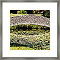 Stone Bridge Framed Print by HD Connelly