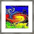 Sunset Swirl Framed Print by Stephen Younts