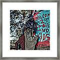 Taz Welcomes You To Zombie Land Framed Print by Pixel Perfect by Michael Moore