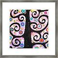 Textured Tree Framed Print by Karla Gerard