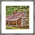 The Bud Ogle Homestead Framed Print by Barry Jones