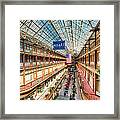 The Cleveland Arcade I Framed Print by Clarence Holmes