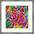 The Flower Of Life Framed Print by Pierre Louis