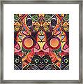 The Joy Of Design Series Guardians Framed Print by Helena Tiainen