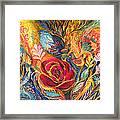 The Rose Of East Framed Print by Elena Kotliarker