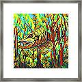 Tiger Muskie Framed Print by Bob Crawford