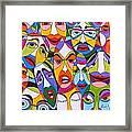 Tristes Framed Print by Mario Fresco