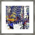 Van Gogh Occupies San Francisco . 7d9733 Framed Print by Wingsdomain Art and Photography