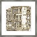 Venice Canals Detail 1 Framed Print by Adendorff Design