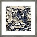 Willy The Smirk Two Framed Print by Jerry Cordeiro