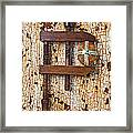 Wooden Vce And Easter Egg Framed Print by Garry Gay