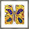Yellow Butterfly Framed Print by Kazuya Akimoto