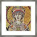 Theodora (c508-548) Framed Print by Granger