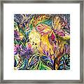 The Life Of Butterfly Framed Print by Elena Kotliarker