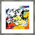 Adam Framed Print by Jean Pierre Rousselet