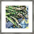Asparagus Framed Print by Nadi Spencer