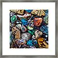 Beautiful Stones Framed Print by Garry Gay