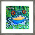 Bright Eyes 2 Framed Print by Nick Gustafson