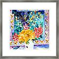 Butterfly Bouquet Framed Print by Mindy Newman