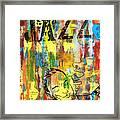 Club De Jazz Framed Print by Sean Hagan