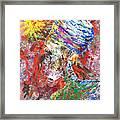 Color Of Life Framed Print by Ramel Jasir