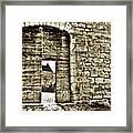 Door To Salvation Framed Print by Paul Topp