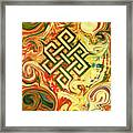 Endless Knot Two Framed Print by Kevin J Cooper Artwork