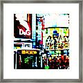 Ginza's Nights  Framed Print by Funkpix Photo Hunter