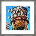 House Of Blues Orlando Framed Print by Corky Willis Atlanta Photography
