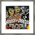 House Of Dracula, Glenn Strange, John Framed Print by Everett