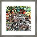 Industrial Complex  Framed Print by Andy  Mercer